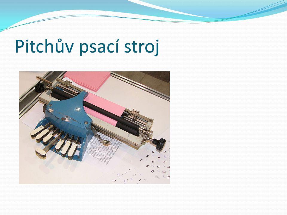 Pitchův psací stroj