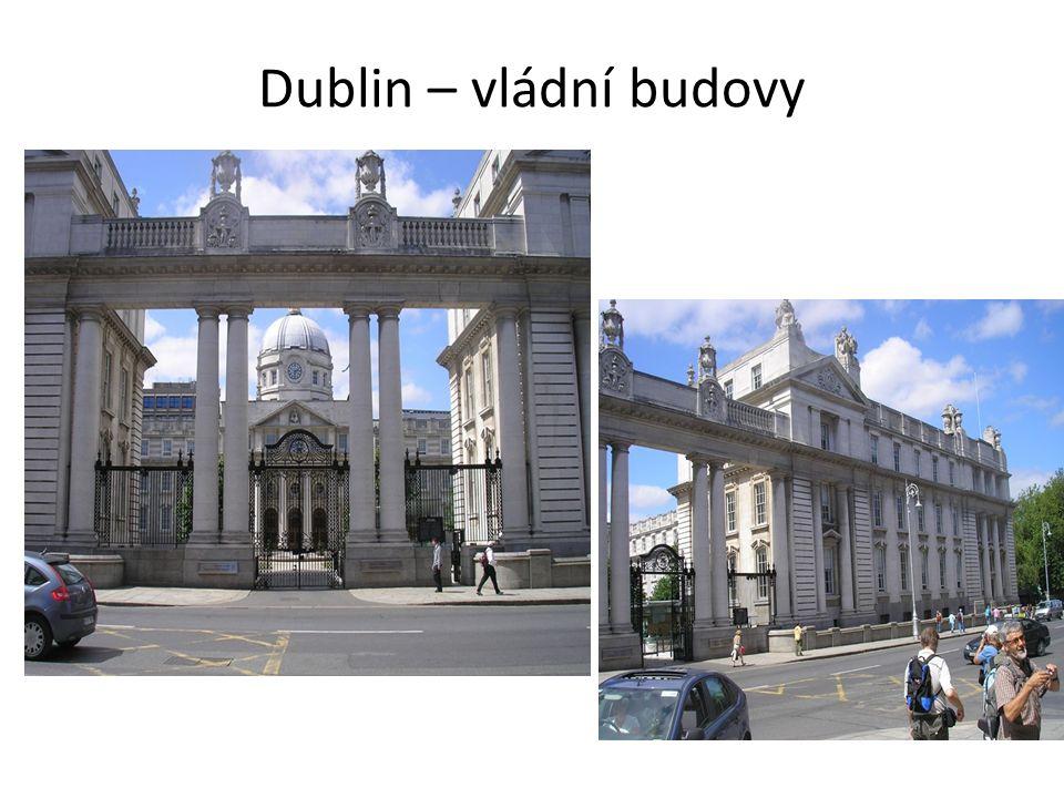 Dublin – vládní budovy
