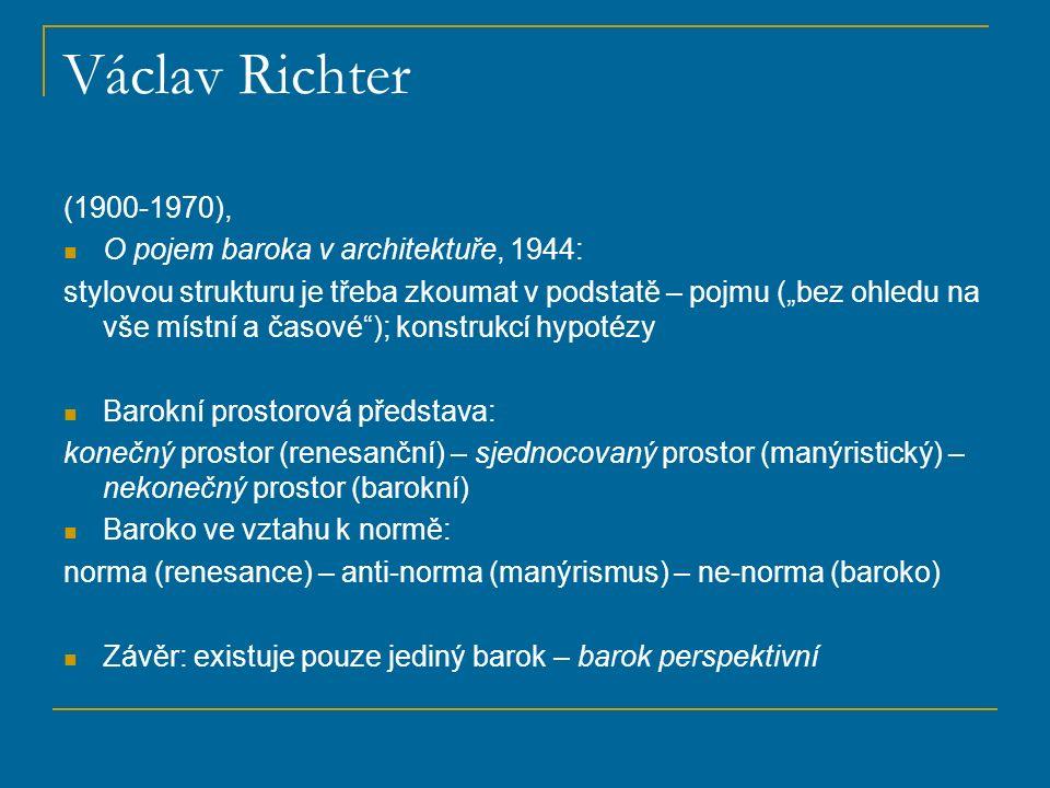 Václav Richter II Recenze H.G. Franze, Umění XII, 1964, s.