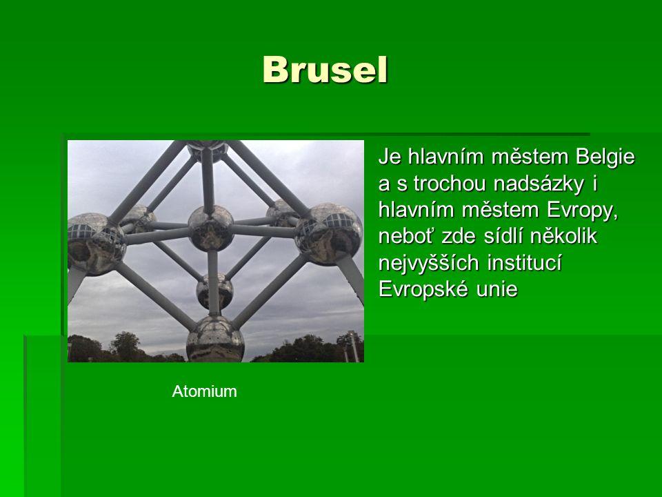 Brusel-Atomium Brusel-Atomium