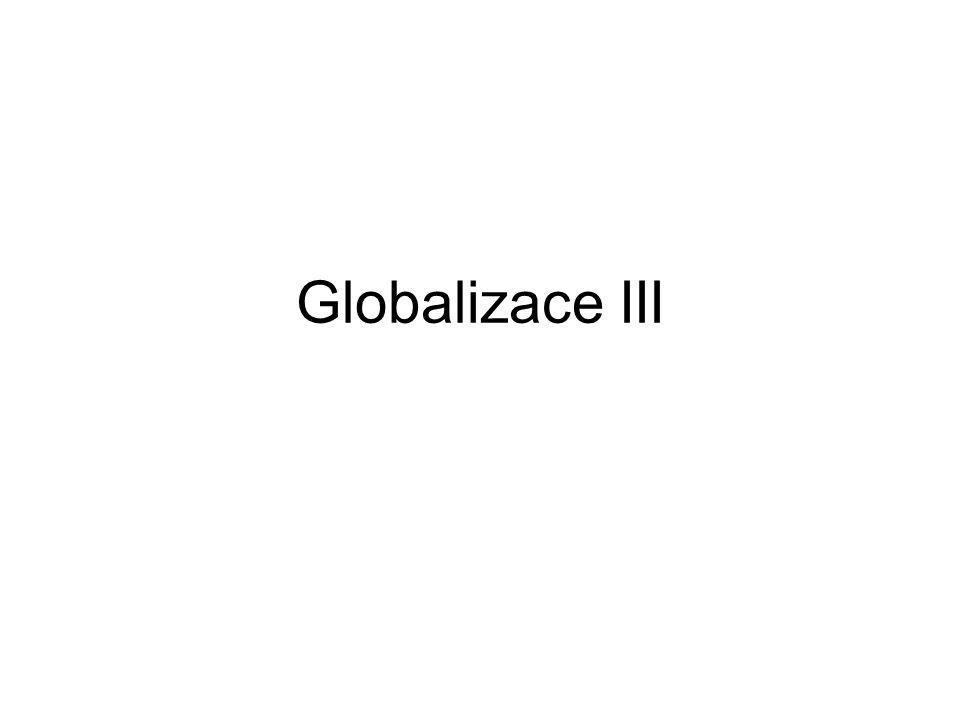 Globalizace III