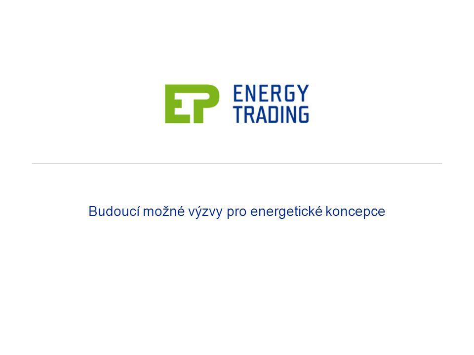 Budoucí možné výzvy pro energetické koncepce