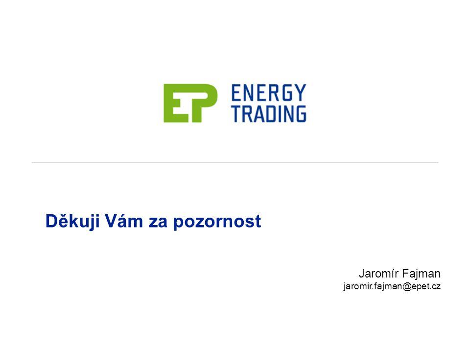 Jaromír Fajman jaromir.fajman@epet.cz Děkuji Vám za pozornost