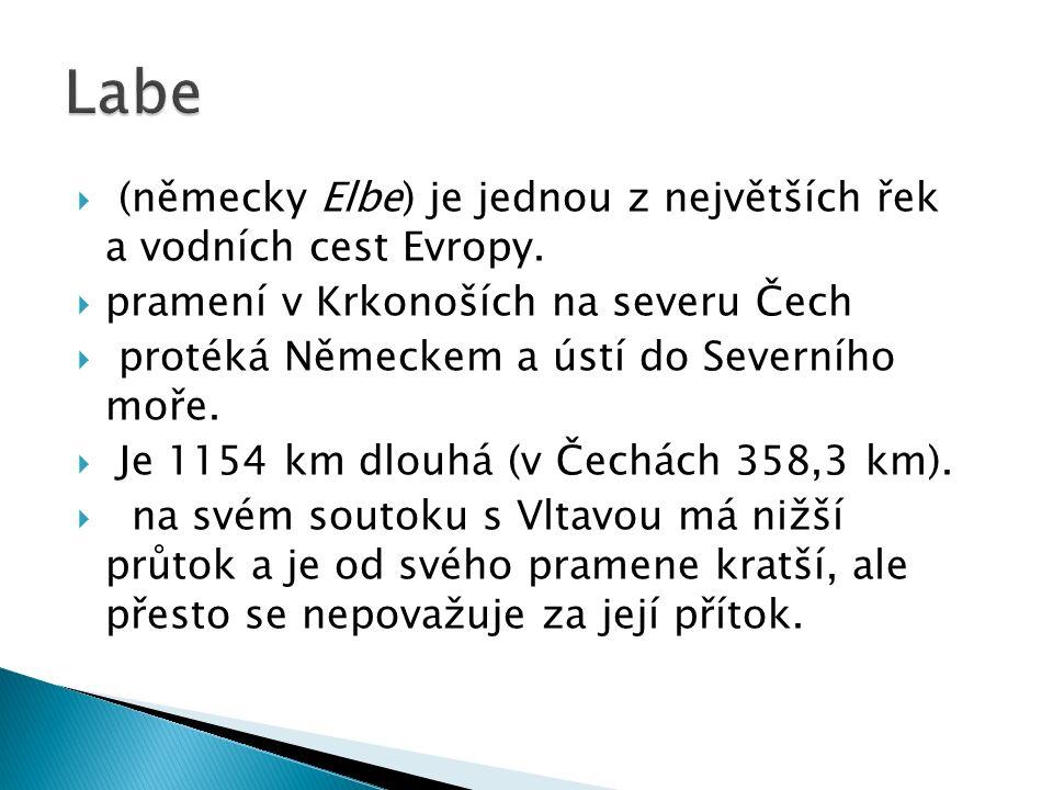  (německy Moldau) je se 430 km (433 km) nejdelší řeka v České republice.