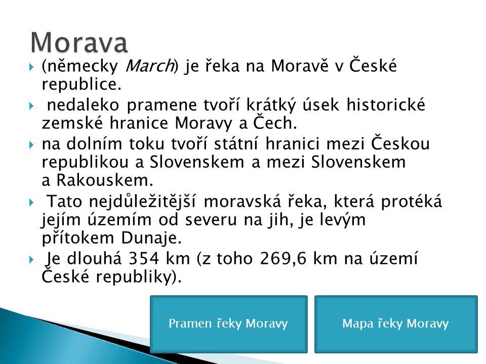  (německy March) je řeka na Moravě v České republice.
