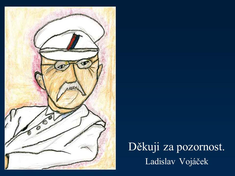 Děkuji za pozornost. Ladislav Vojáček