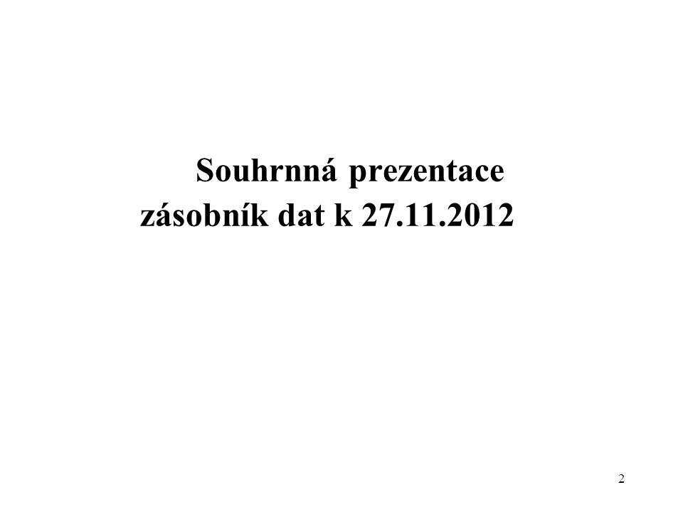 2 Souhrnná prezentace zásobník dat k 27.11.2012