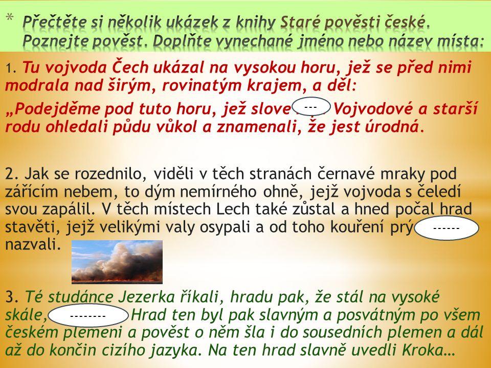 JIRÁSEK, Alois.Staré pověsti české.
