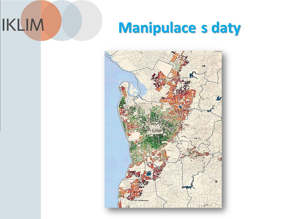 Manipulace s daty