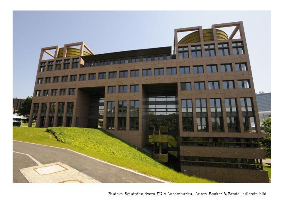 Budova Soudního dvora EU v Lucemburku. Autor: Becker & Bredel, ullstein bild