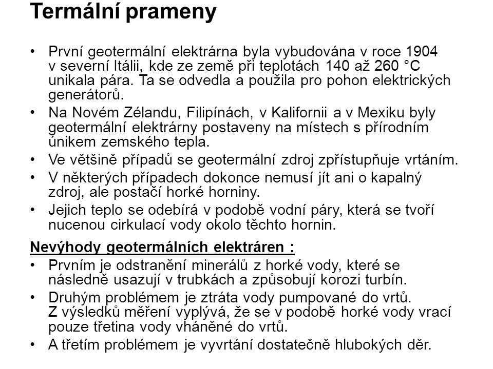 Zdroje: http://www.nazeleno.cz/energie/vodni- energie/vodni-elektrarny-v-ceske-republice-kolik- vyrobi-elektriny.aspx http://www.nazeleno.cz/energie/vodni- energie/vodni-elektrarny-v-ceske-republice-kolik- vyrobi-elektriny.aspx https://cs.wikipedia.org/wiki/Vodn%C3%AD_elek tr%C3%A1rna https://cs.wikipedia.org/wiki/Vodn%C3%AD_elek tr%C3%A1rna http://ireferaty.cz/306/2801/Termalni-prameny- prirodni-zdroj-energie http://ireferaty.cz/306/2801/Termalni-prameny- prirodni-zdroj-energie http://www.alternativni-zdroje.cz/energie-prilivu- priboje.htm http://www.alternativni-zdroje.cz/energie-prilivu- priboje.htm www.nazeleno.cz/energie/vodni-energie/norsko- vyrabi-99-elektriny-ve-vodnich-elektrarnach.aspx www.nazeleno.cz/energie/vodni-energie/norsko- vyrabi-99-elektriny-ve-vodnich-elektrarnach.aspx