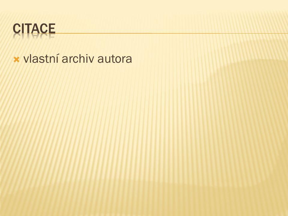  vlastní archiv autora