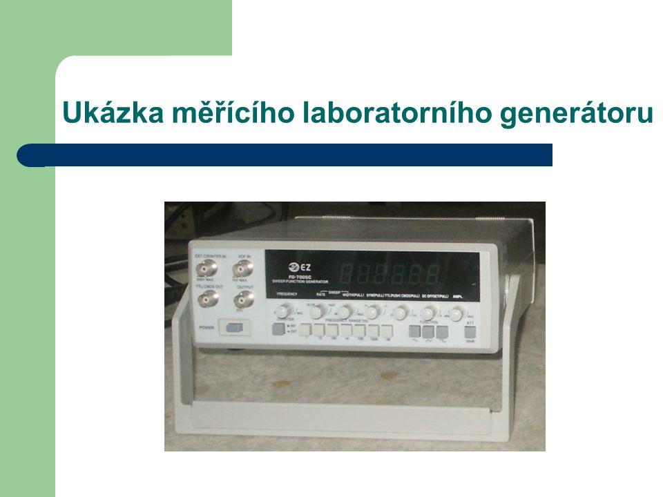Ukázka měřícího laboratorního generátoru