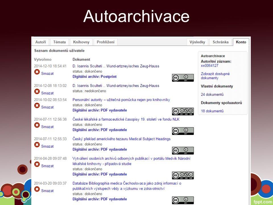 Autoarchivace