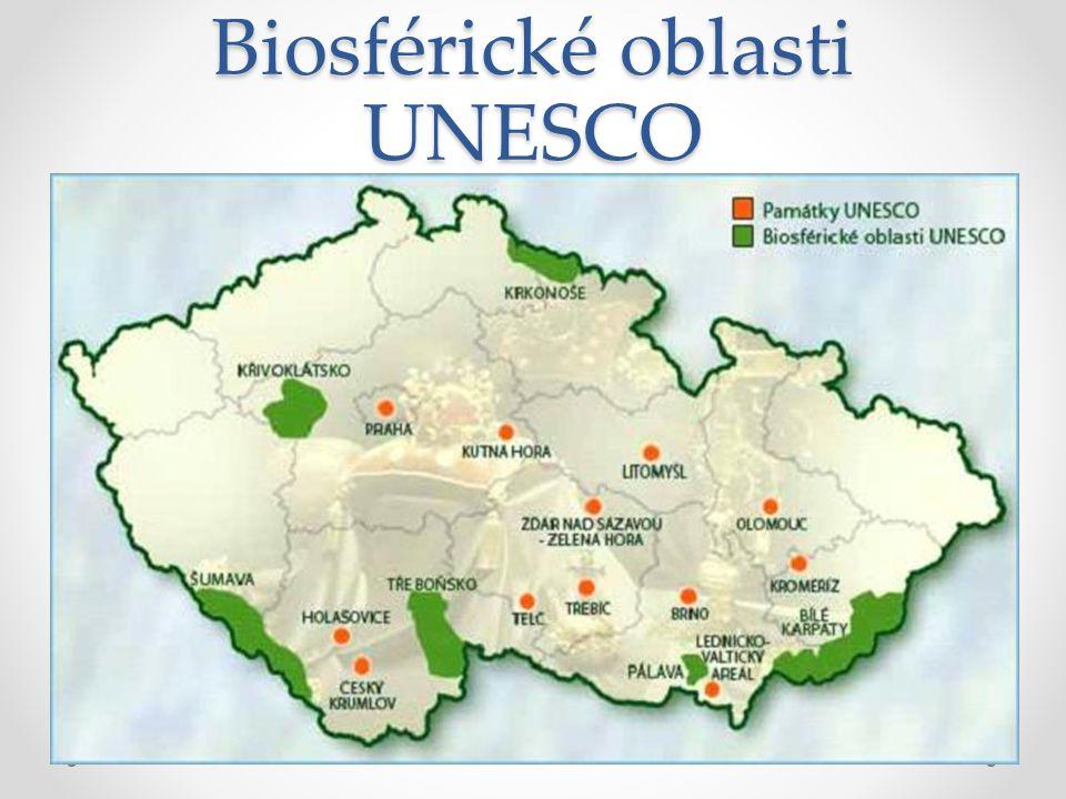 Biosférické oblasti UNESCO