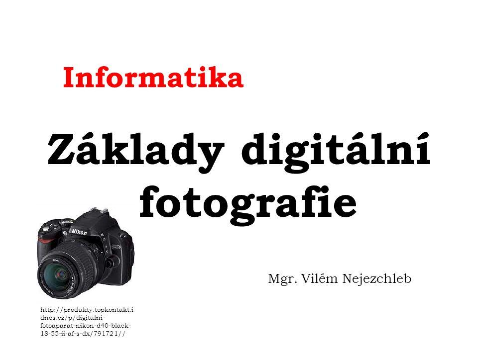 Digi foto Pro úspěšnou fotografickou tvorbu je téměř nutností pochopení některých základních optických pravidel, které se v tomto oboru vyskytují.