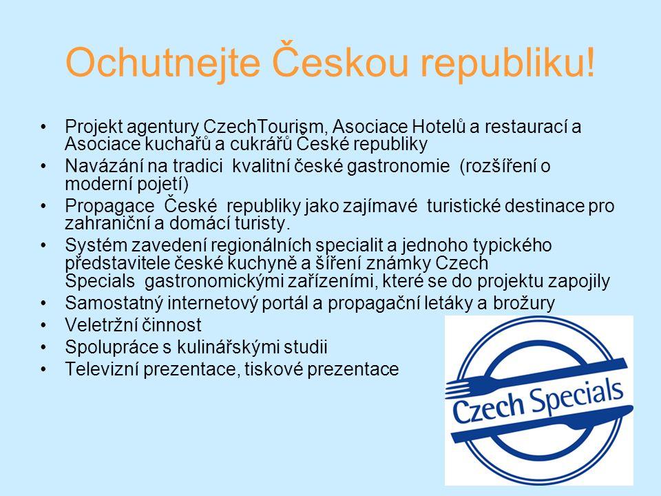 Ochutnejte Českou republiku.