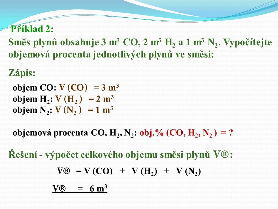 Řešení - výpočet V (alkohol): Řešení - V (voda): V (H 2 O) = V  - V (alkohol) V (H 2 O) = 2,5 - 0,975 V (H 2 O) = 1,525 dm 3 Odpověď: Ve 2,5 dm 3 39%
