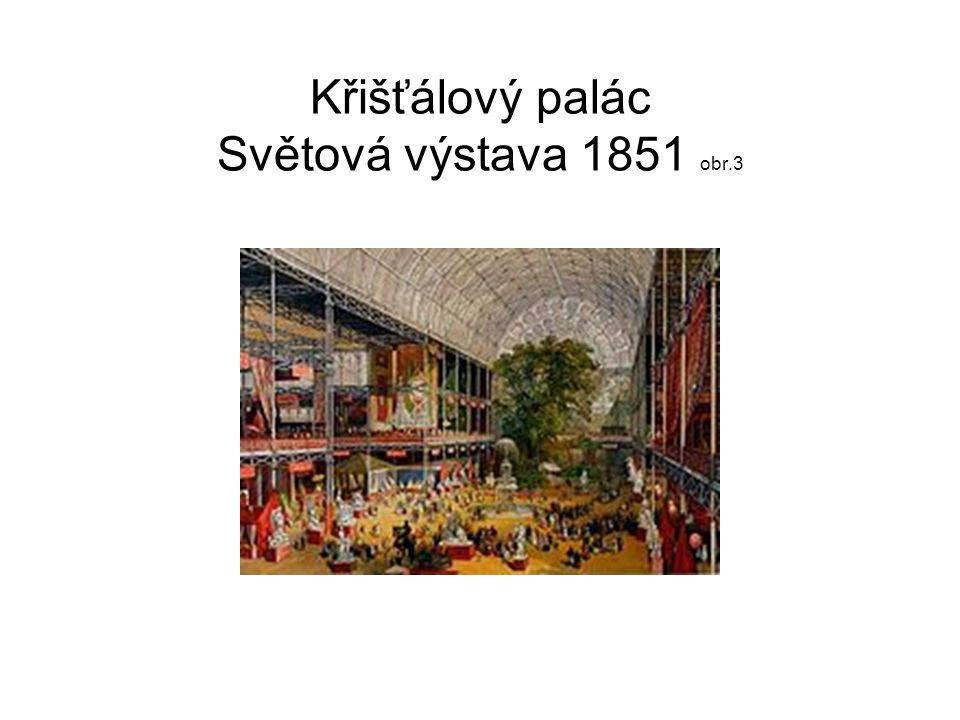 Křišťálový palác Světová výstava 1851 obr.3