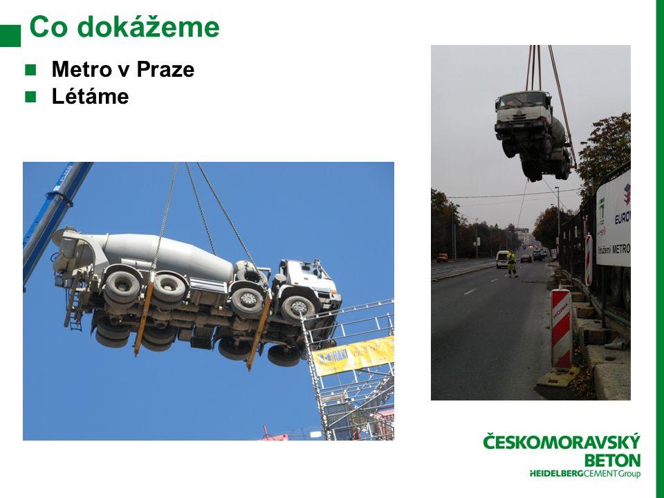 Co dokážeme Metro v Praze Létáme