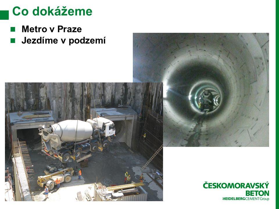 Co dokážeme Metro v Praze Jezdíme v podzemí