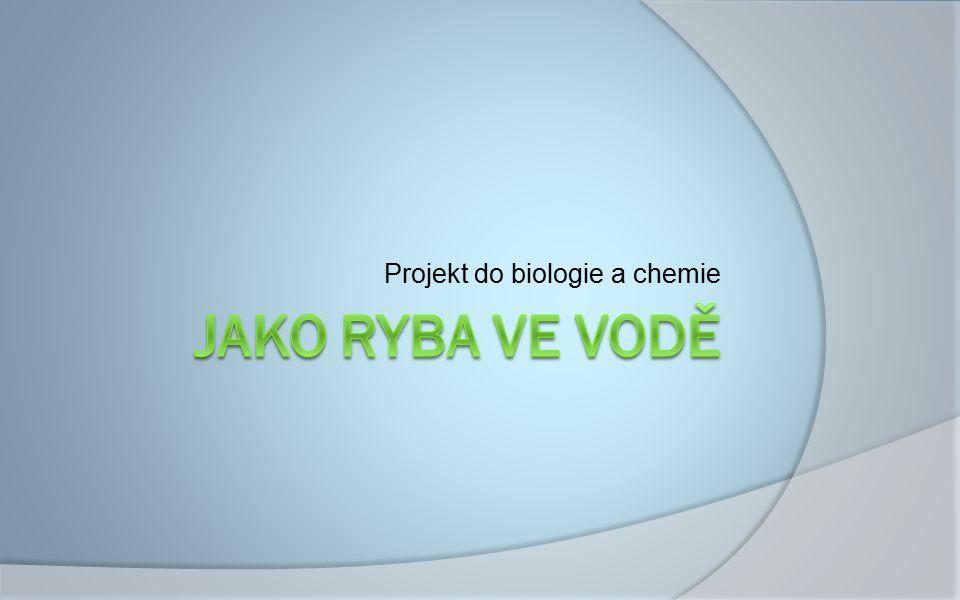 Projekt do biologie a chemie