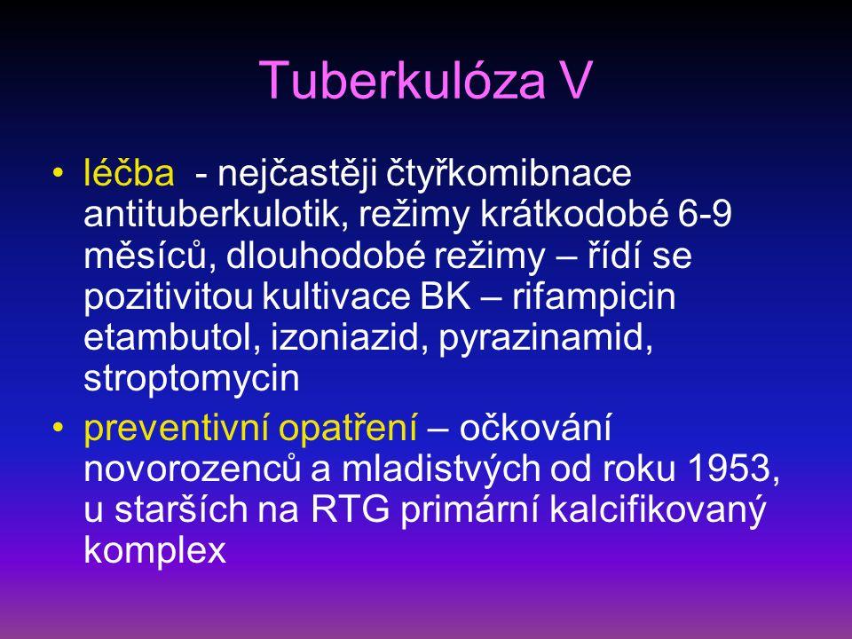 Atypické mykobakteriózy I definice – infekční onemocnění vyvolané jiným druhem mykobakteria etiologie – M.