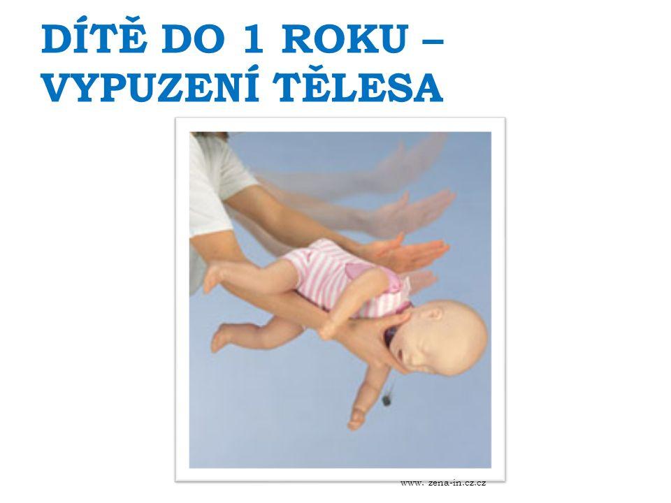 DÍTĚ DO 1 ROKU – VYPUZENÍ TĚLESA www. zena-in.cz.cz