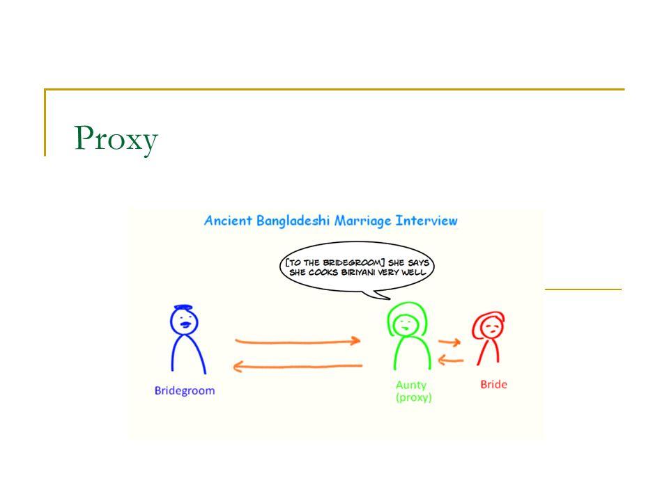 Synchronization proxy - Java Standardní kolekce nejsou v Javě thread-safe  Umožňuje vyšší rychlost Volitelné řešení: synchronization proxies (wrappers)  Myšlenkově identické s předchozí unmodifiableCollection public class SynchronizedCollection implements Collection { private Collection c; private Object myLock; public SynchronizedCollection(Collection c) { this.c = c; } public boolean contains(Object o) { synchronized(myLock) {return c.contains(o);} } public boolean add(E o) { synchronized(myLock) {return c.add(o);} } //...