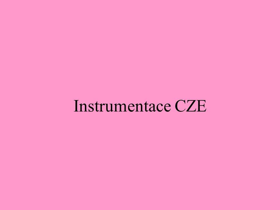 Instrumentace CZE