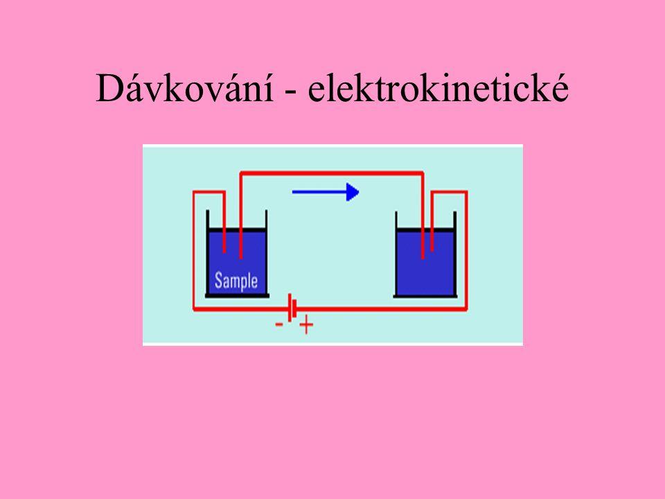 Dávkování - elektrokinetické