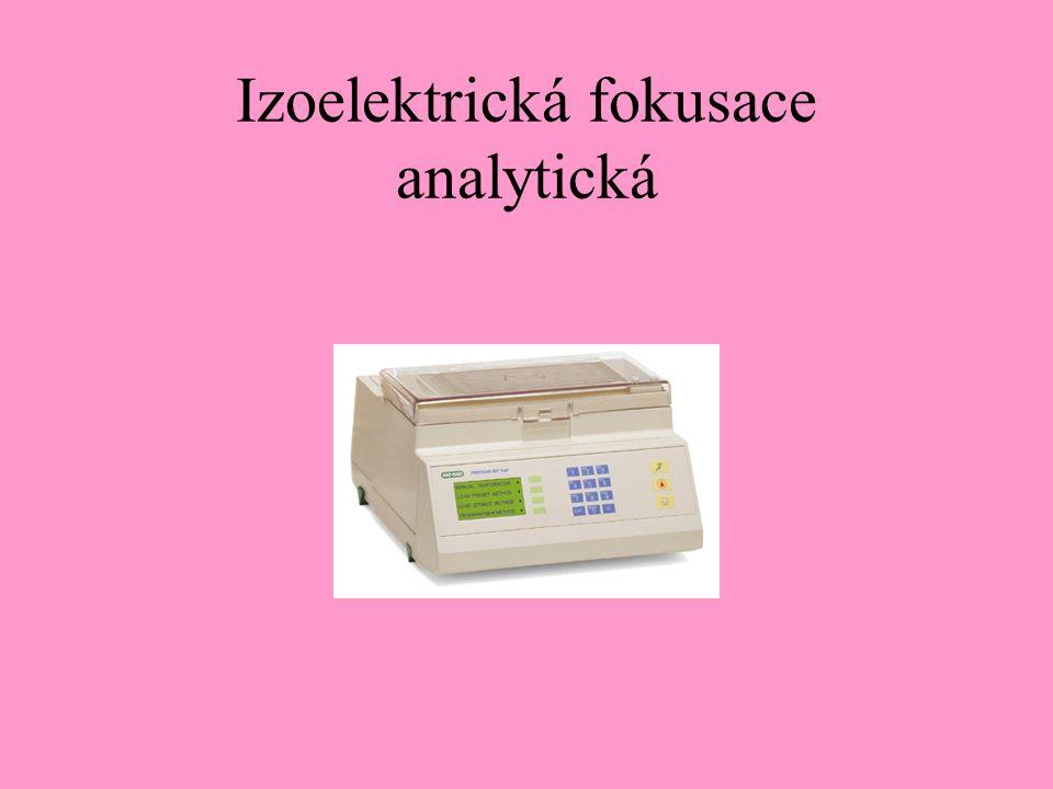 Izoelektrická fokusace analytická