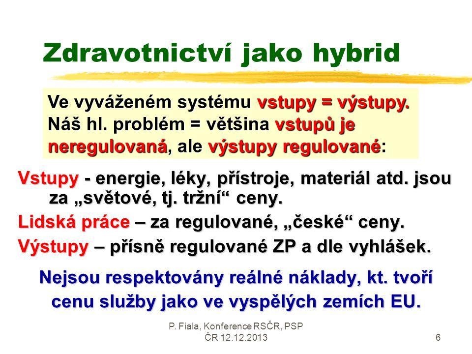 P.Fiala, Konference RSČR, PSP ČR 12.12.20137 Korupce a systém Korupce vnáší do systému patolog.