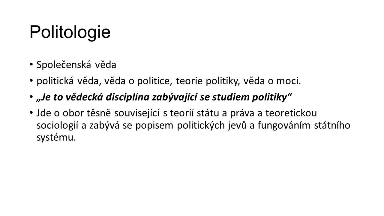 Politologie Polis + logos