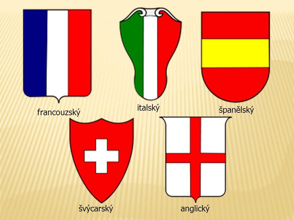 francouzský španělský italský anglickýšvýcarský