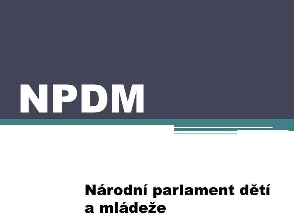 NPDM Národní parlament dětí a mládeže