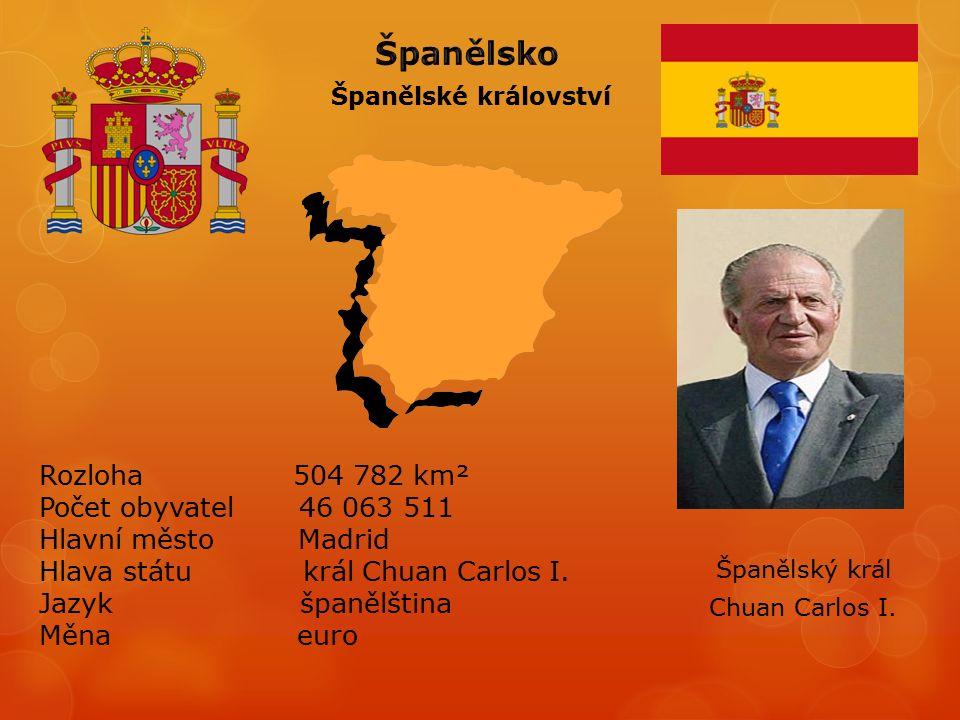 Španělské království Chuan Carlos I.