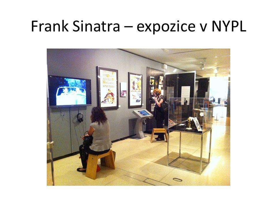 Frank Sinatra – expozice v NYPL