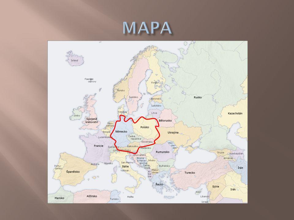  Vnitrozemský stát  Většinou mírně zvlněný až kopcovitý  Slovanský národ  Mírný pás  Nejvyšší hora – Gerlachův štít (2655 m nad mořem) – Vysoké Tatry  Řeky – Dunaj, Váh, Hron, Orava  Turistika, zemědělství  Hlavní město – Bratislava, 462 603 tisíc obyvatel  Počet obyvatel – 5,4 milionů  Rozloha – 49 035 km²  Parlamentní republika (od 1.1.1993)  Jazyk – slovenština  Měna – Euro  Člen Evropské unie