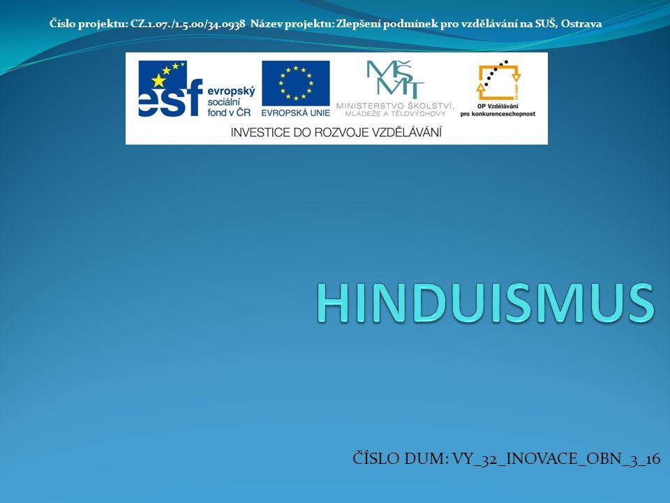 základní charakteristika indické národní náboženství, od 1 800 př.