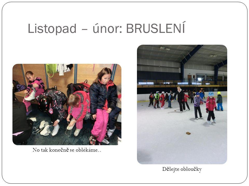 Listopad – únor: BRUSLENÍ