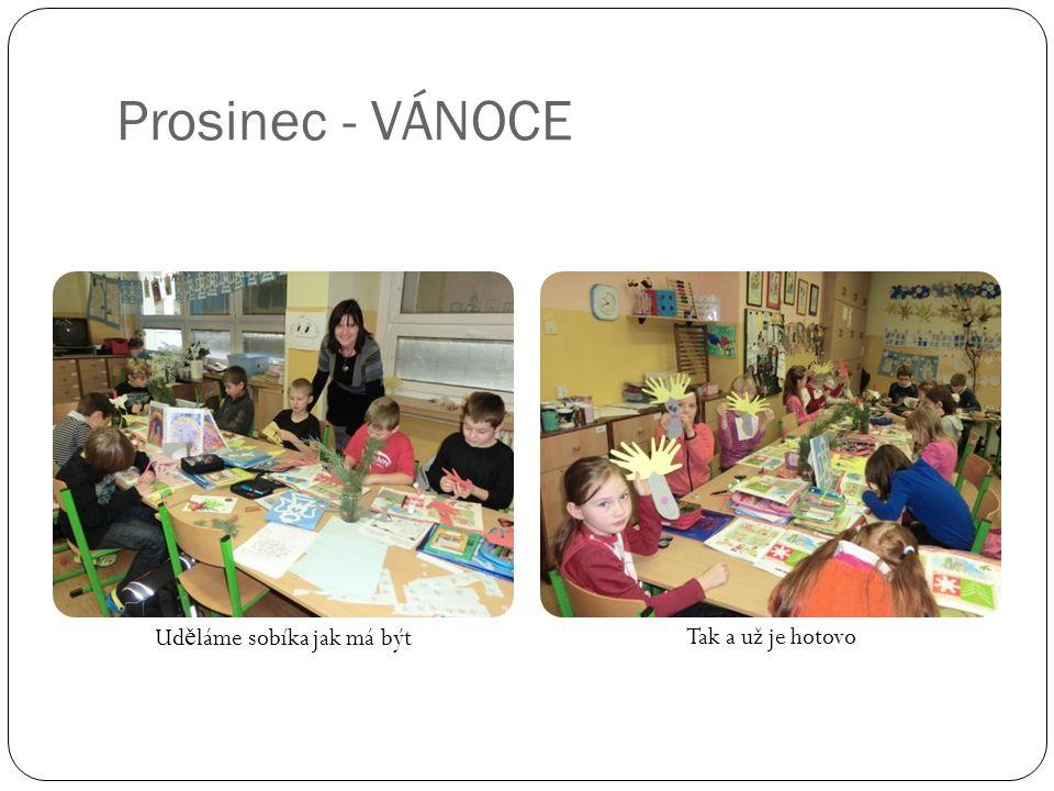 Prosinec - VÁNOCE