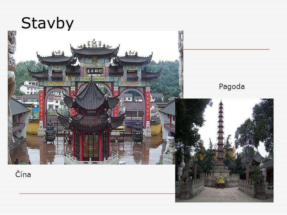 Stavby Čína Pagoda