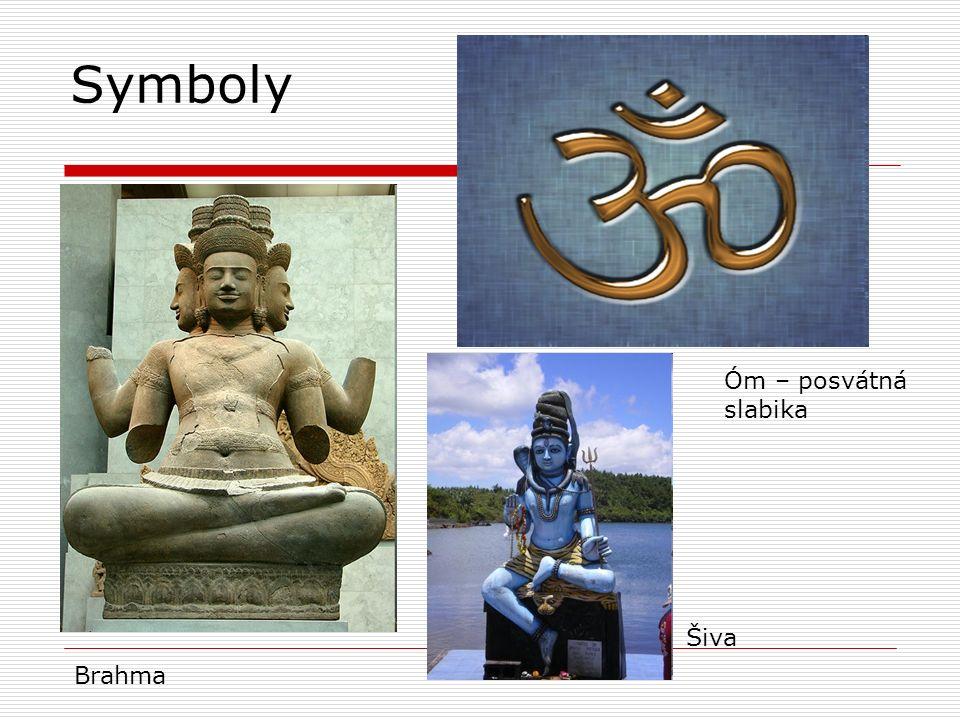 Symboly Brahma Óm – posvátná slabika Šiva
