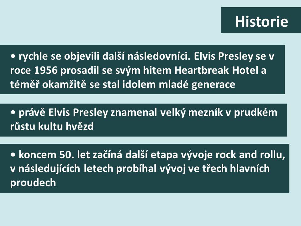 v roce 1954 začali interpreti v oblasti country and western i v oblasti hlavního proudu tehdejší populární hudby objevovat rhythm and blues. ten byl d