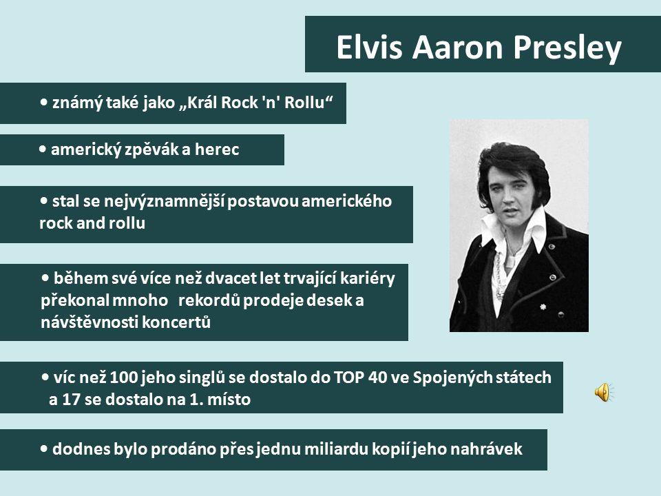 rychle se objevili další následovníci. Elvis Presley se v roce 1956 prosadil se svým hitem Heartbreak Hotel a téměř okamžitě se stal idolem mladé gene