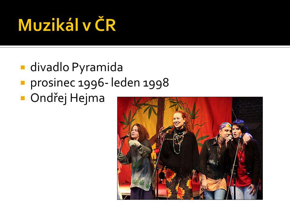  divadlo Pyramida  prosinec 1996- leden 1998  Ondřej Hejma