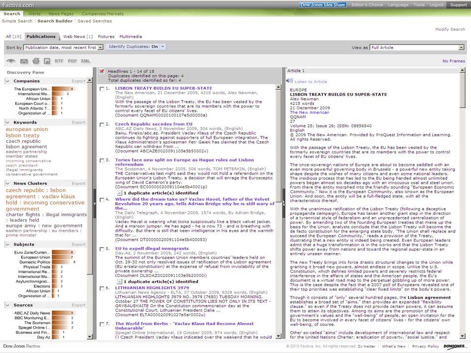 41SVI FSV UK 2010 Vyhledávání v databázích – příklady