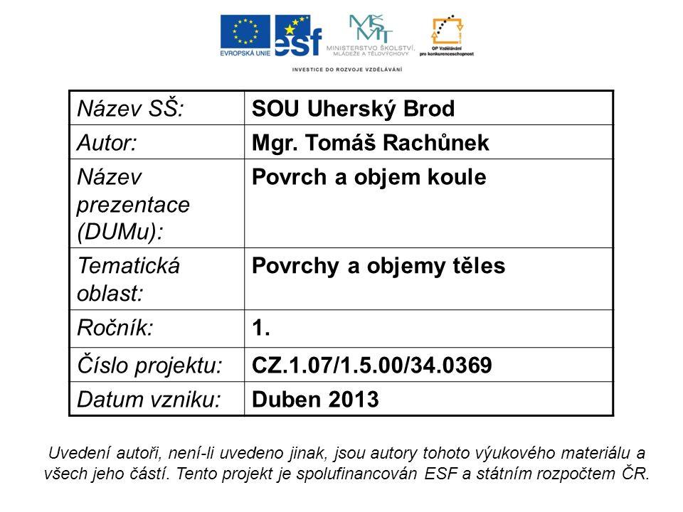 Použitá literatura: ČIHÁK, Jaromír; ČIHÁK, Jan.Sbírka úloh z matematiky [online].