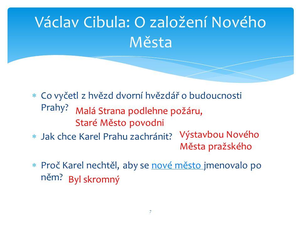  Co vyčetl z hvězd dvorní hvězdář o budoucnosti Prahy.